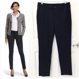 CAbi capote black slim trouser pants 3107